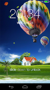 Spring live wallpaper lock v2.1.5