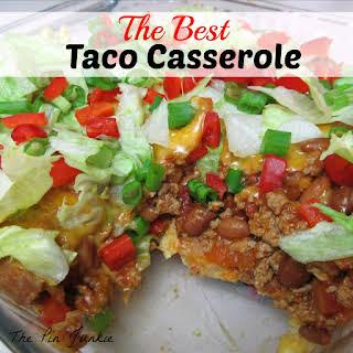 Taco Casserole.