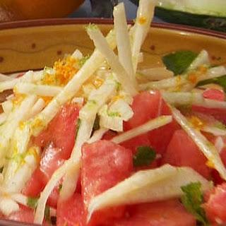 Jicama and Watermelon Salad Recipe