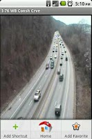 Screenshot of Philly Area Traffic Cams Pro