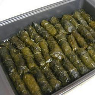 Baked Dolmades.