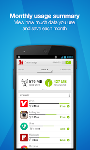 Opera Max - Data manager - screenshot thumbnail