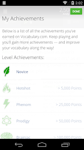 Vocabulary.com- screenshot thumbnail