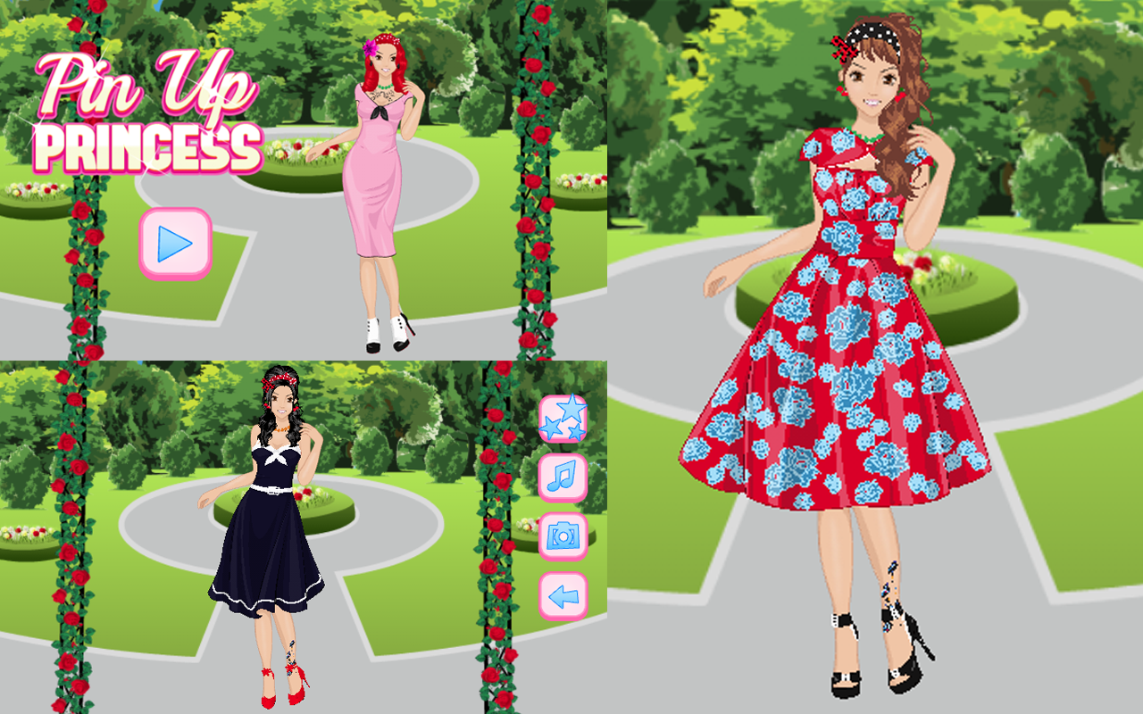 Pin Up Princess- screenshot