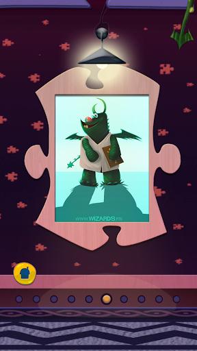 玩解謎App 드래곤 게임 - 조각 그림 맞추기免費 APP試玩