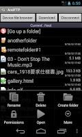 Screenshot of AndFTPPro