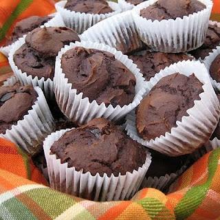 Chocolate (Pumpkin) Muffins.