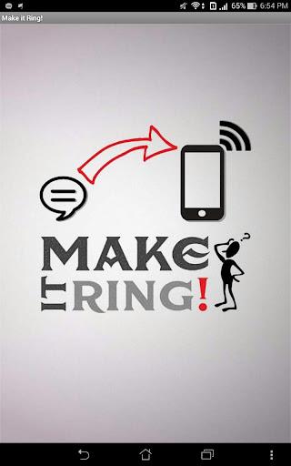 Make it Ring