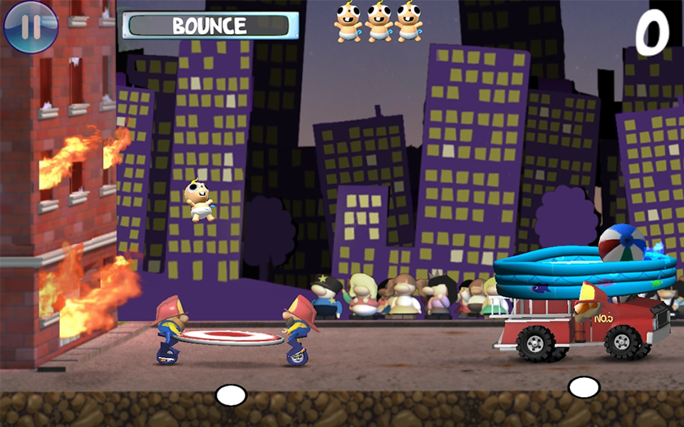 Blazin Babies- screenshot