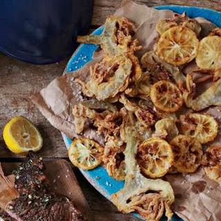 Artichoke and Lemon Fritto Misto