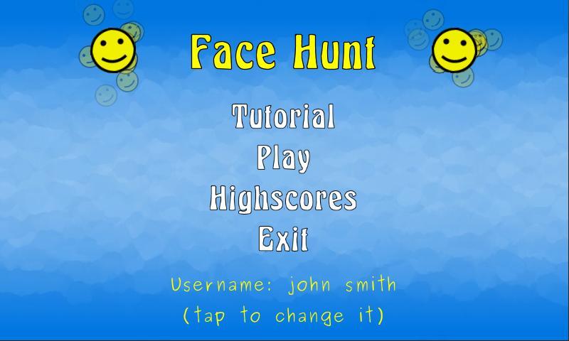 FaceHunt- screenshot