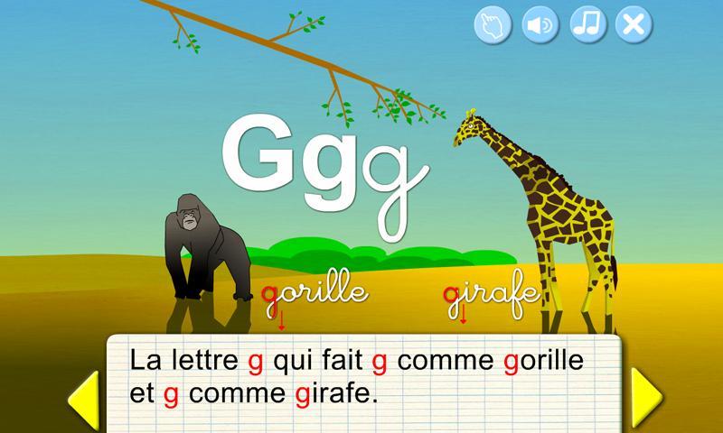French ABC- screenshot