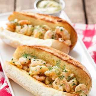 Shrimp Rolls with Herb Brown Butter Mayonnaise