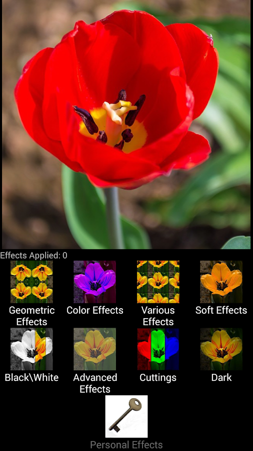 VS 100+ Photo effects PRO - screenshot