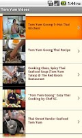 Screenshot of Thai Food & Recipes