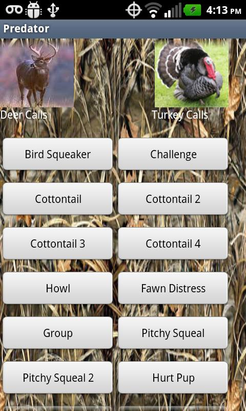 HD Deer Turkey Predator Calls - screenshot
