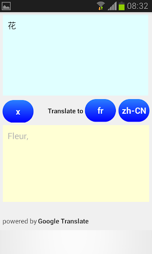 Chinese French Translator