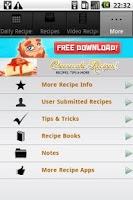 Screenshot of Cheesecake Recipes!!