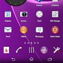CM11 Sony XPERIA Purple theme icon