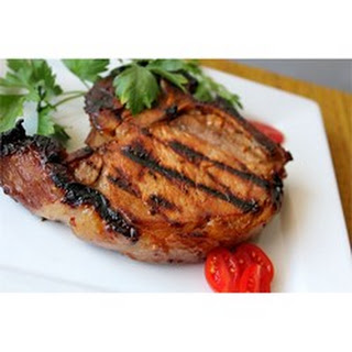 Summer Grilled Pork Chops