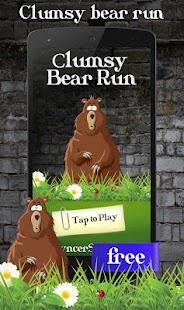 Nemotorný medvěd běh - náhled