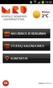 Mykolas Romeris University- screenshot thumbnail