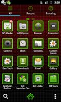 Screenshot of GO Launcher EX Marijuana Theme