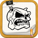 Draw Tattoo Skulls Ideas icon