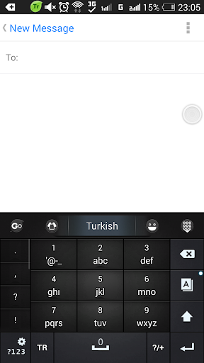 Turkish for GO Keyboard- Emoji