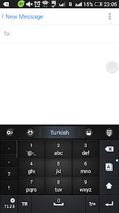 Turkish for GO Keyboard- Emoji Screenshot 5
