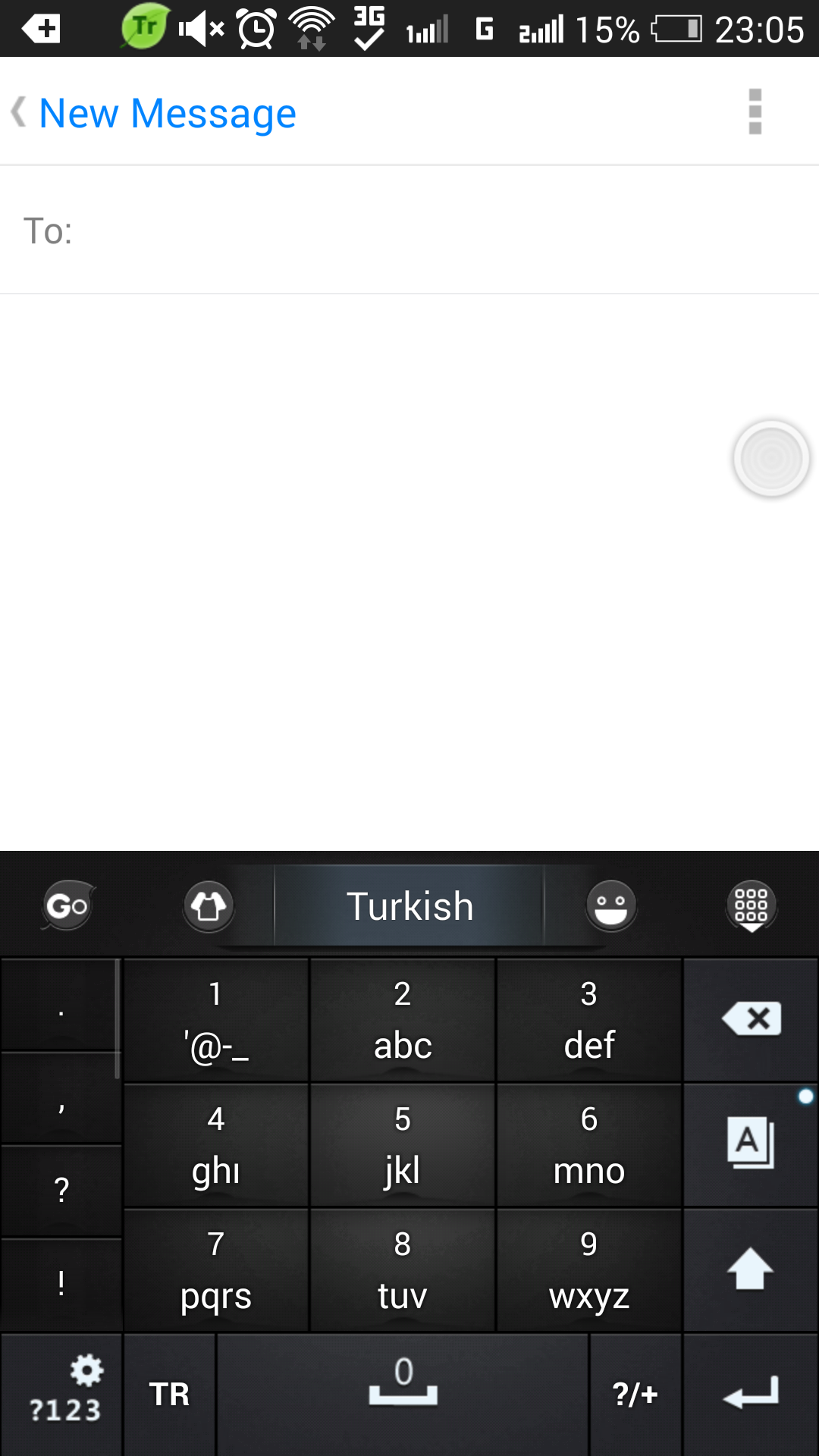 Turkish for GO Keyboard- Emoji screenshot #5