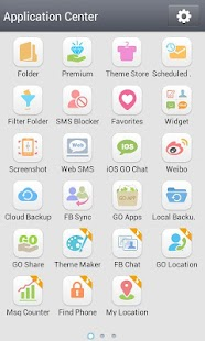 GO SMS Pro Grey Theme- screenshot thumbnail