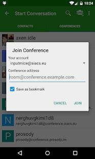 Conversations (Jabber / XMPP) - screenshot thumbnail