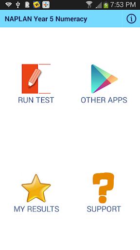 NAPLAN Yr5 Numeracy App