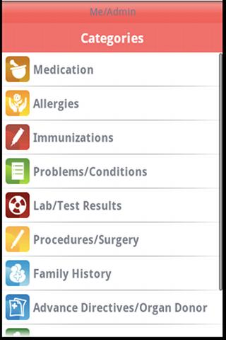 Red Ribbon HIV/AIDS Manager- screenshot