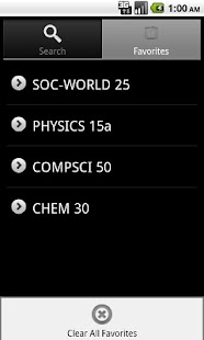 Harvard Courses - screenshot thumbnail