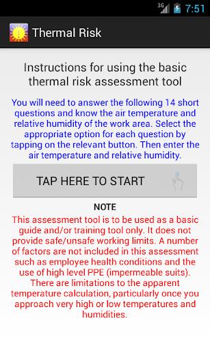 Thermal Risk
