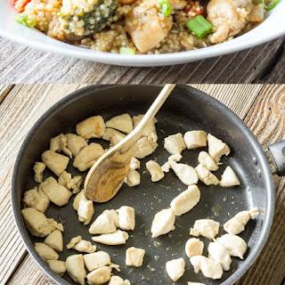 One Pot Wonder Teriyaki Chicken Quinoa Bowls