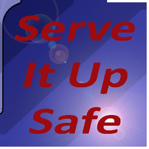 Serve It Up Safe LOGO-APP點子