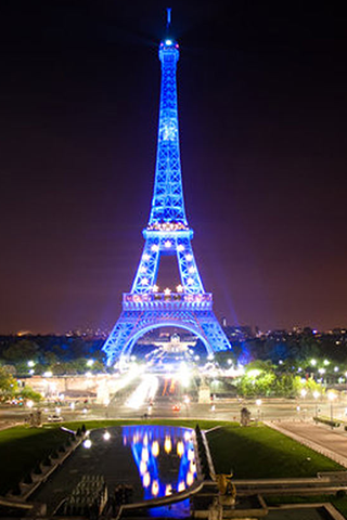Eiffel Tower Wallpapers Android App Screenshot