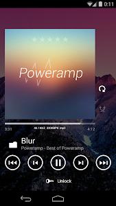 Poweramp skin Metro UI v1.2.4