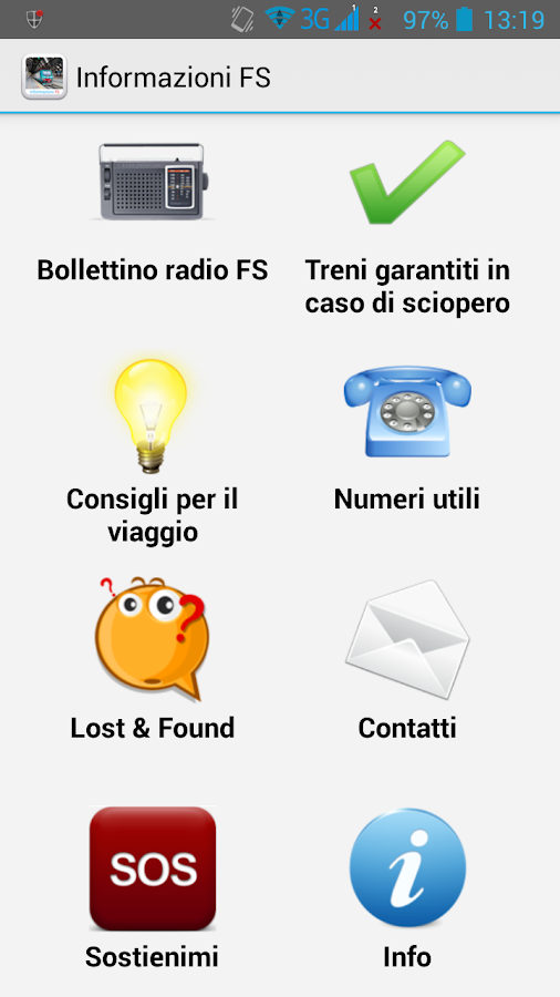 Informazioni FS - screenshot
