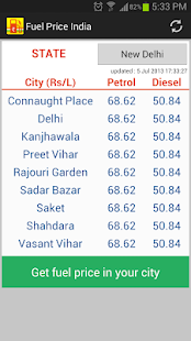 Fuel Price India Petrol Diesel- screenshot thumbnail