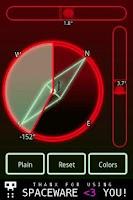 Screenshot of Micro Spirit Level + Compass