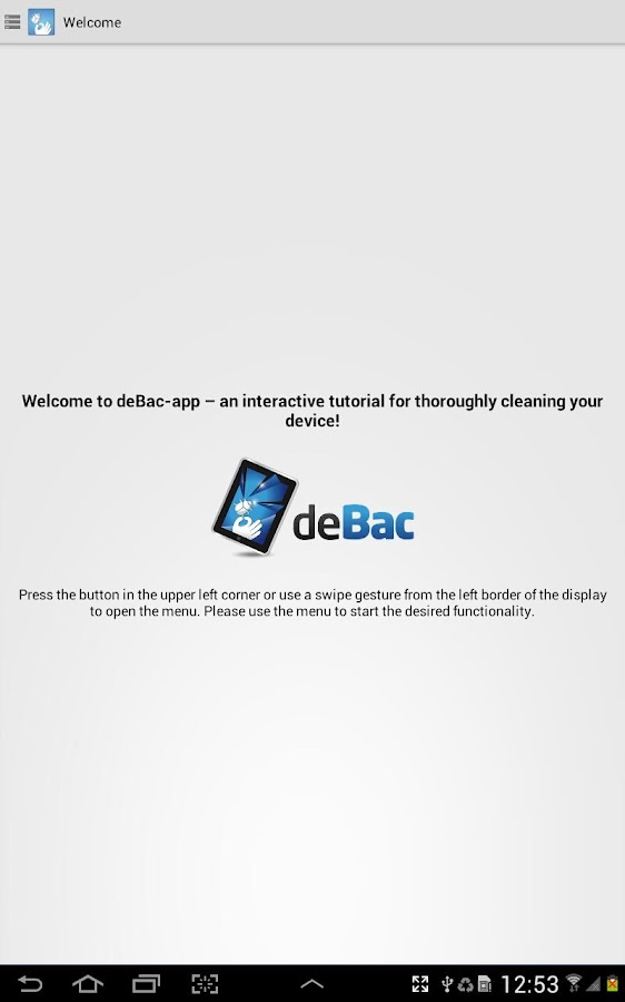 deBac-app- screenshot