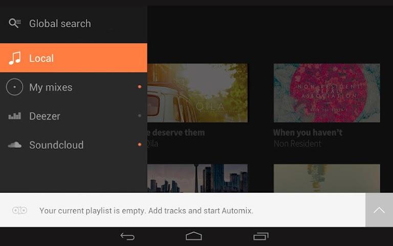 android edjing 5 free DJ musique mixer Screenshot 7
