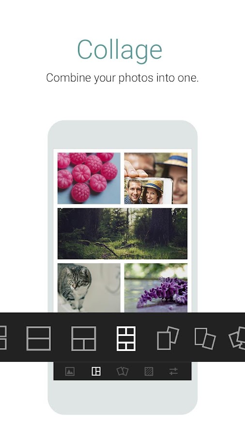 Cymera - Photo Editor, Collage - screenshot