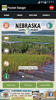 Screenshot of NE State Parks Guide
