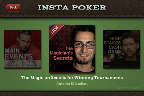 Insta Poker Coach Texas Holdem- screenshot thumbnail