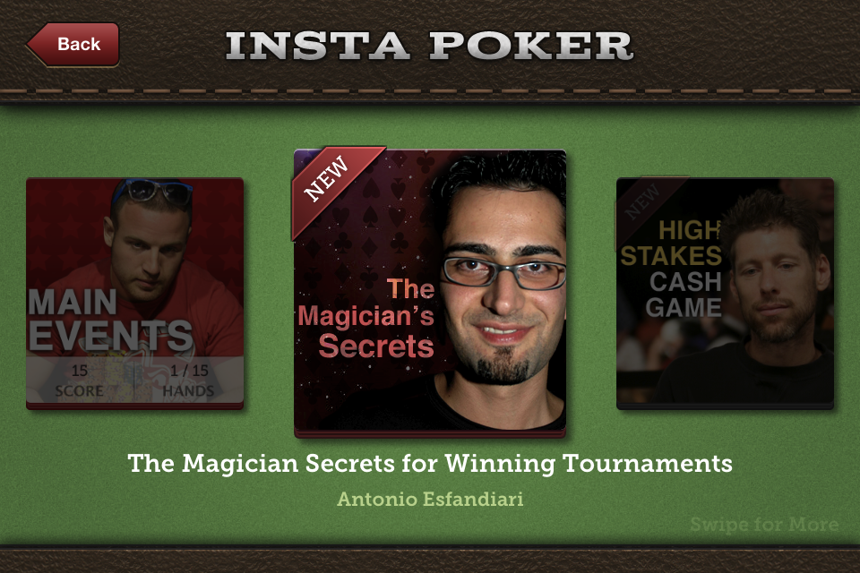 Insta Poker Coach Texas Holdem- screenshot